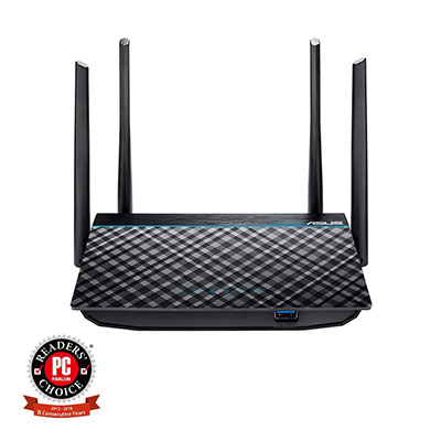 ASUS Dual-Band AC1300 Router with USB 3.0